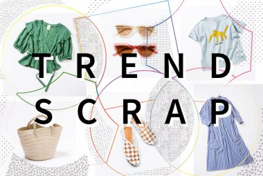 インテリア・雑貨 ファッション イラスト カジュアル かわいい スタイリッシュ・おしゃれ ポップのバナーデザイン